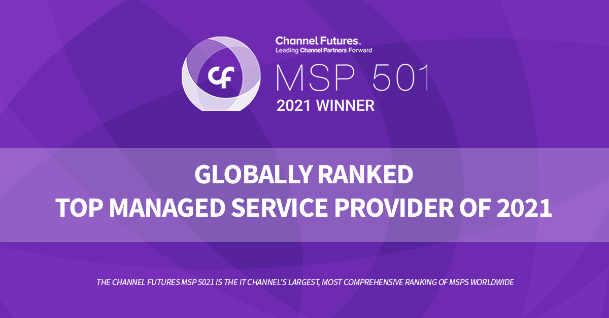 Accent Consulting Ranked #32 on Channel Futures MSP 501 for 2021