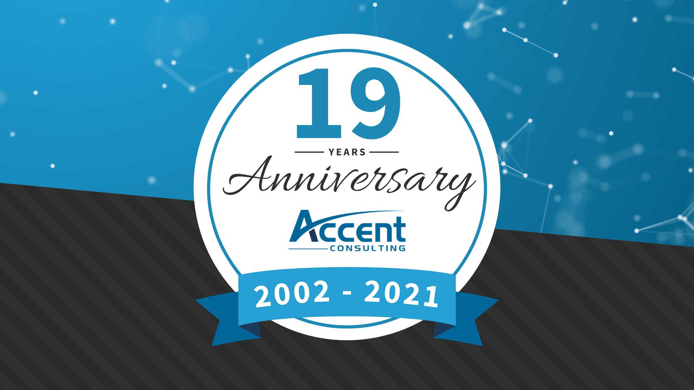 Accent's 19th Anniversary